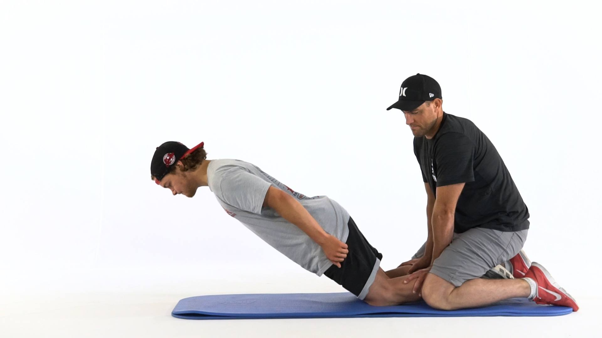 instructions for nordic hamstring curl