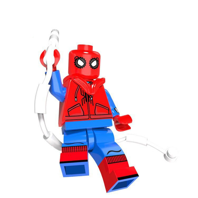 spiderman homecoming lego instructions