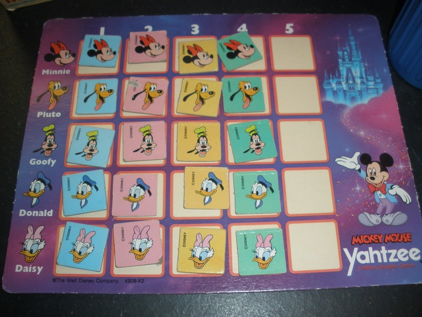 instructions yahtzee jr the disney edition