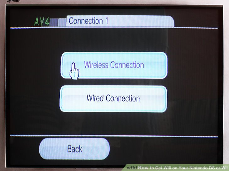 connection instructions for wii