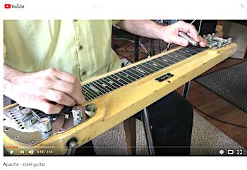 pedal steel instruction youtube
