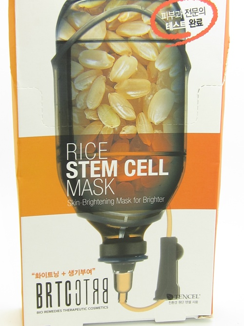 brtc rice stem cell mask instructions