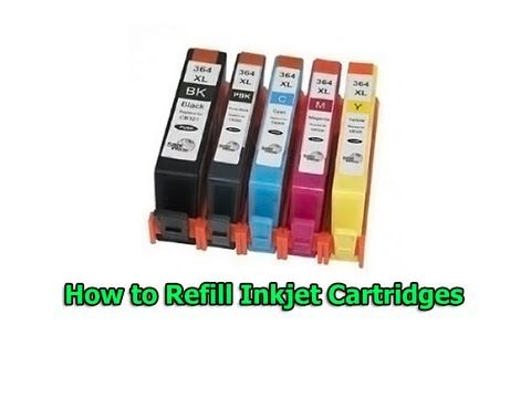 hp photosmart c4580 ink refill instructions