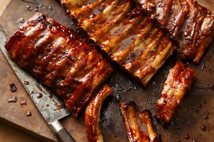 barbeque cooking instructions for back ribs
