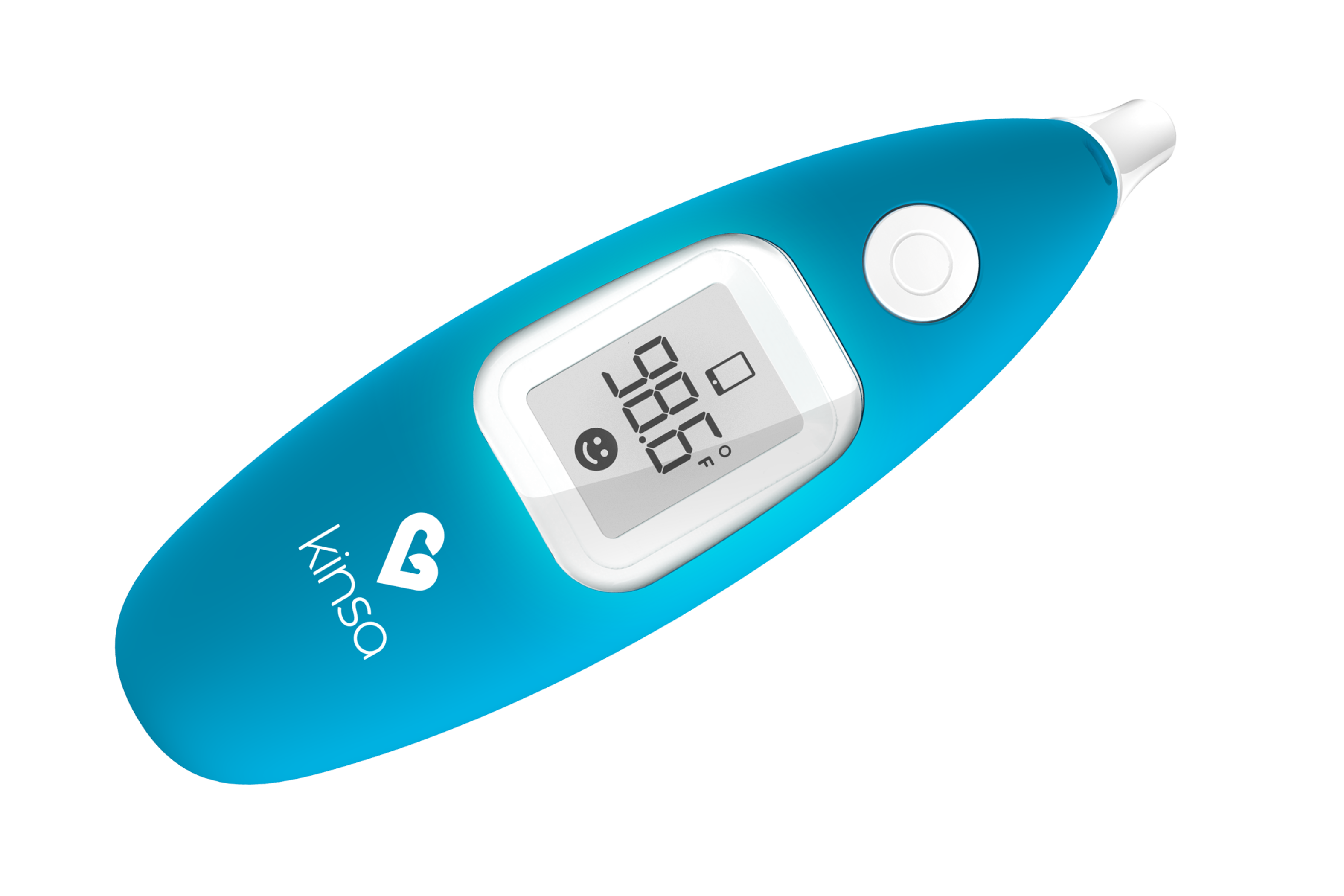kinsa smart ear thermometer instructions