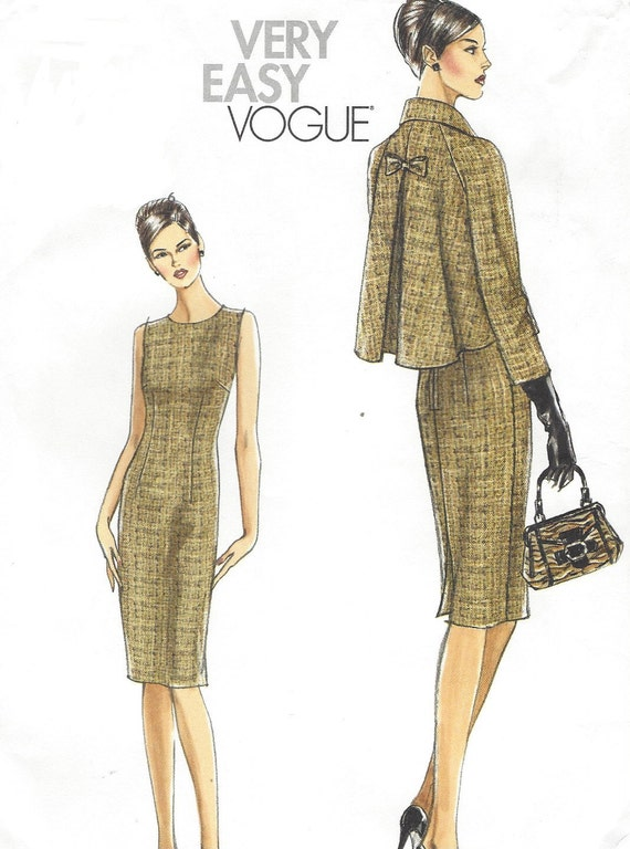 very easy vogue v8146 instructions