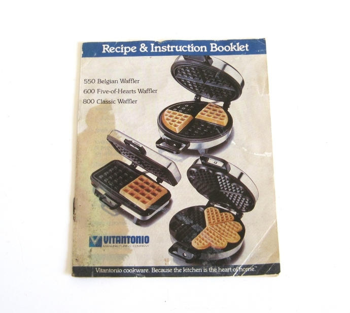 toastmaster belgian waffle iron instructions