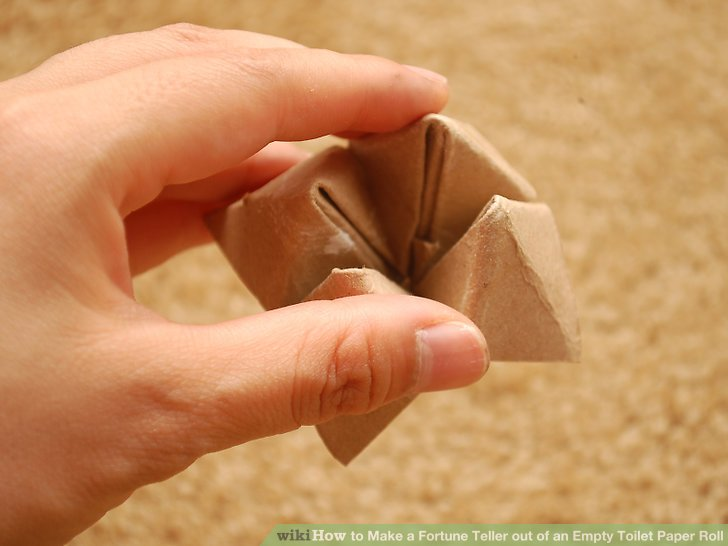 how to make a fortune teller step by step instructions