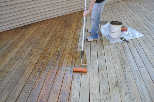 behr exterior stain instructions