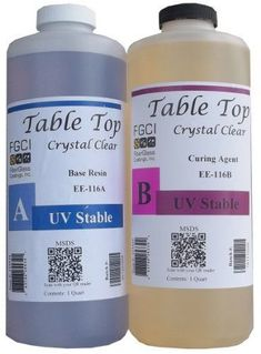 crystal clear resin instructions