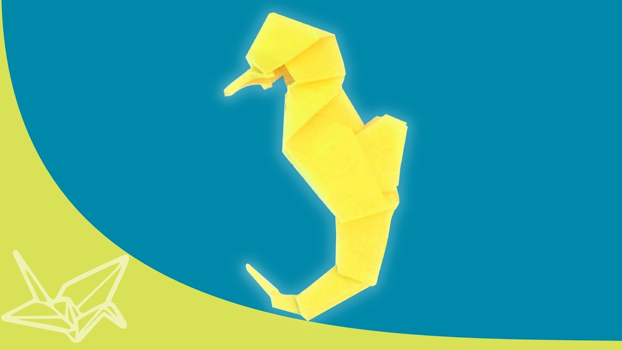 easy origami seahorse instructions