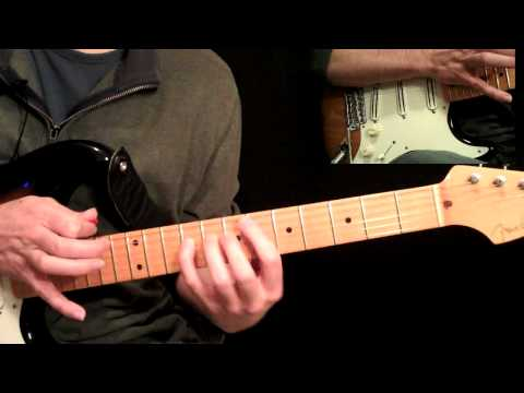 hot for teacher instructional guitar video