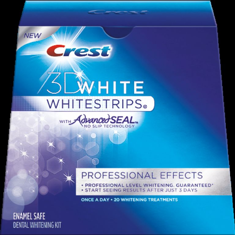 how to crest white strips instructions