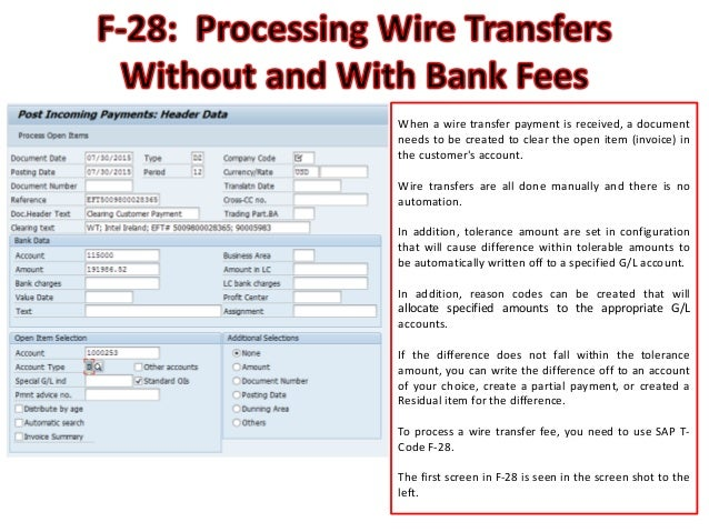 payment instruction invoice e transfer