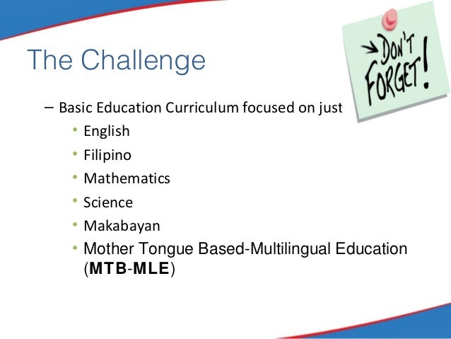 special education curriculum and instruction in the philippines
