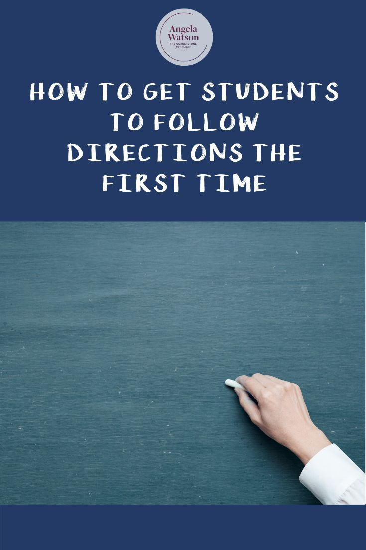 students will follow instructions with minimal supervision