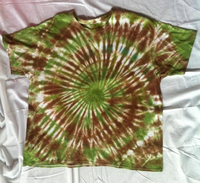 tie dye camouflage instructions