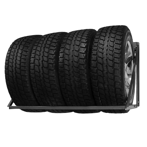 wall tire rack instructions
